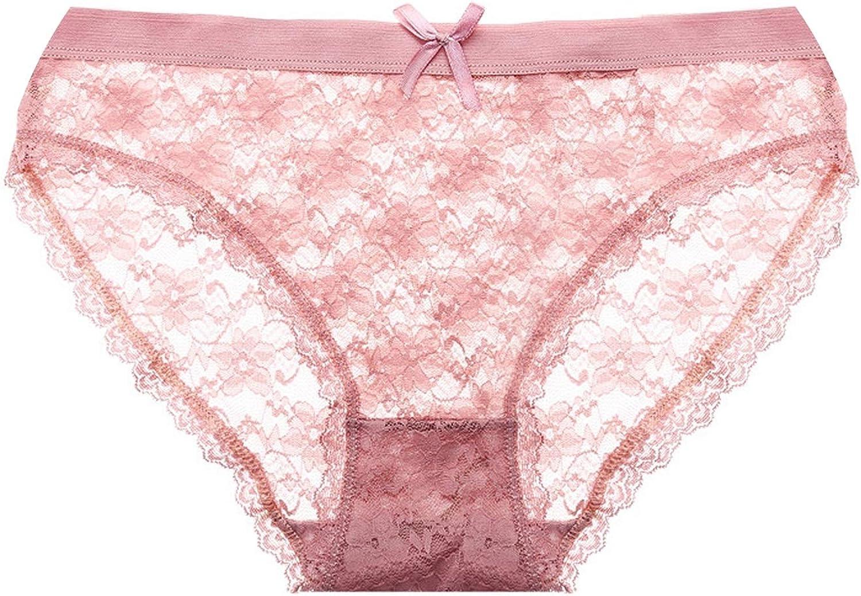 Pink Underware Bra Briefs Lace Spendex cotton Panties Lingerie Size:XL