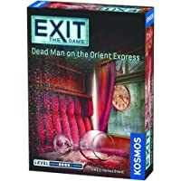 Thames & Kosmos Exit The Game Dead Man On The Orient Express Family Card Games