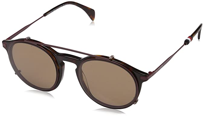 Unisex-Adults TH 1471/C 99 Sunglasses, Blue, 50 Tommy Hilfiger