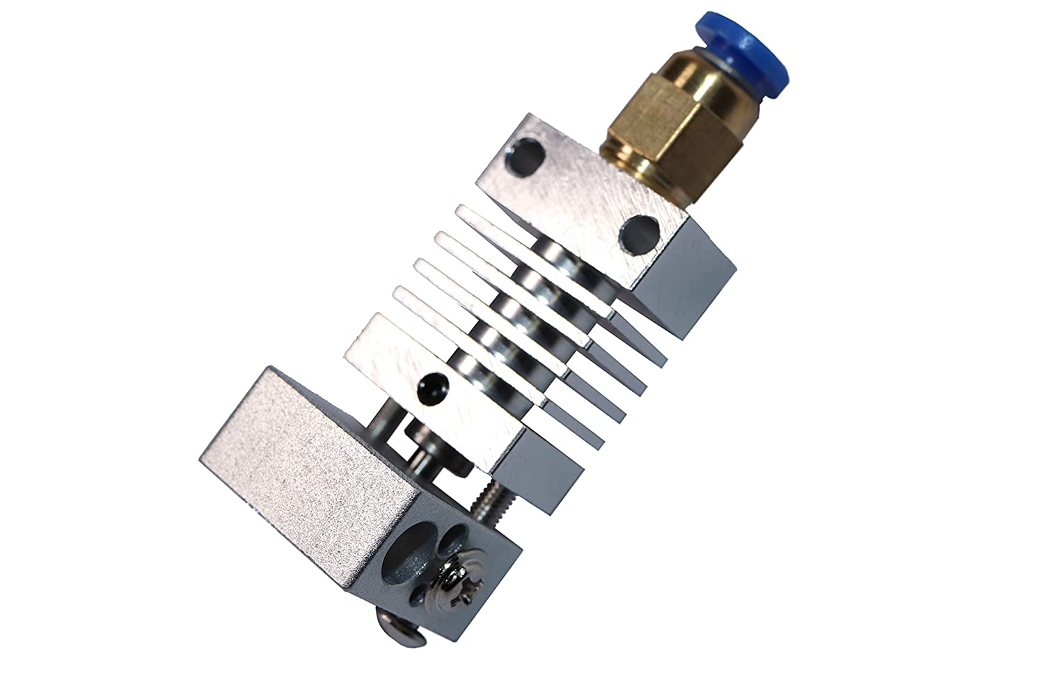 Aluminum Heating Block and Four Steel Nozzles Titanium Heat Sink Authentic Creality All Metal Hotend Complete Upgrade Kit with Capricorn PTFE Bowden Tubing