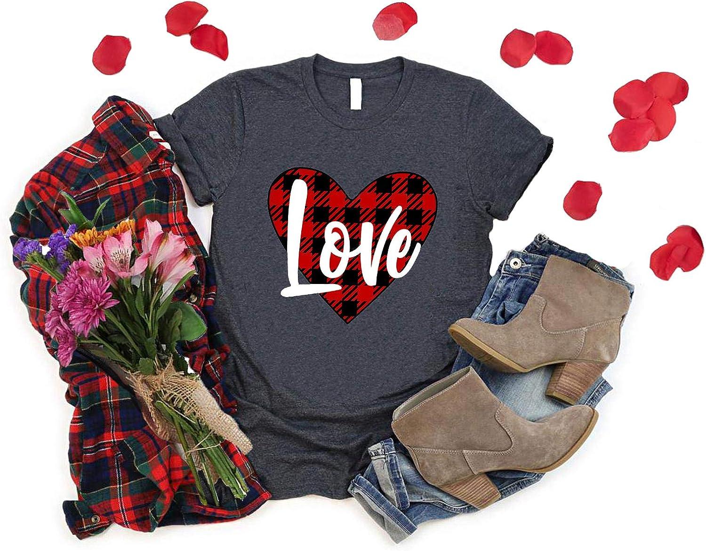 Love Shirt Love Valentine/'s Shirt Cute Valentine/'s Day Tee Glitter Valentine/'s Day Shirt