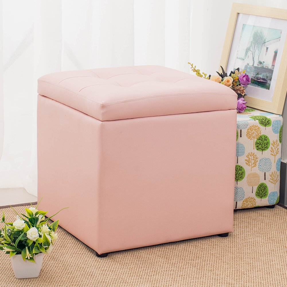 STorAge OtTomAn CuBe Footrest STool Puppy Step Coffee TAble,Holds Up To 660lbs,Be Used At Home As A CuBe OtTomAn Footrest STool Coffee TAble-A