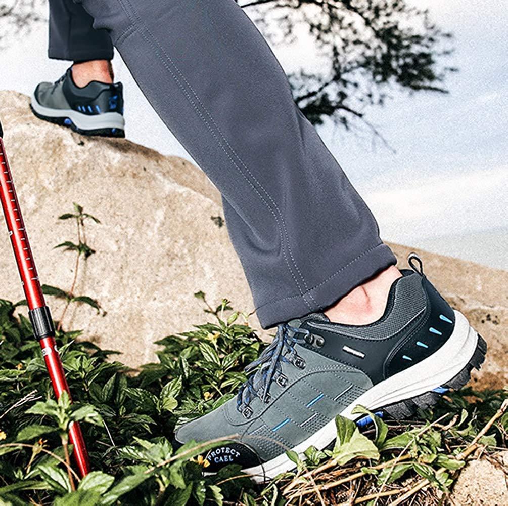 Fuxitoggo Männer Wanderschuhe Wanderschuhe Wanderschuhe Stiefel Leder Wanderschuhe Turnschuhe Für Outdoor Trekking Training Beiläufige Arbeit (Farbe   11, Größe   40EU) fb0b93