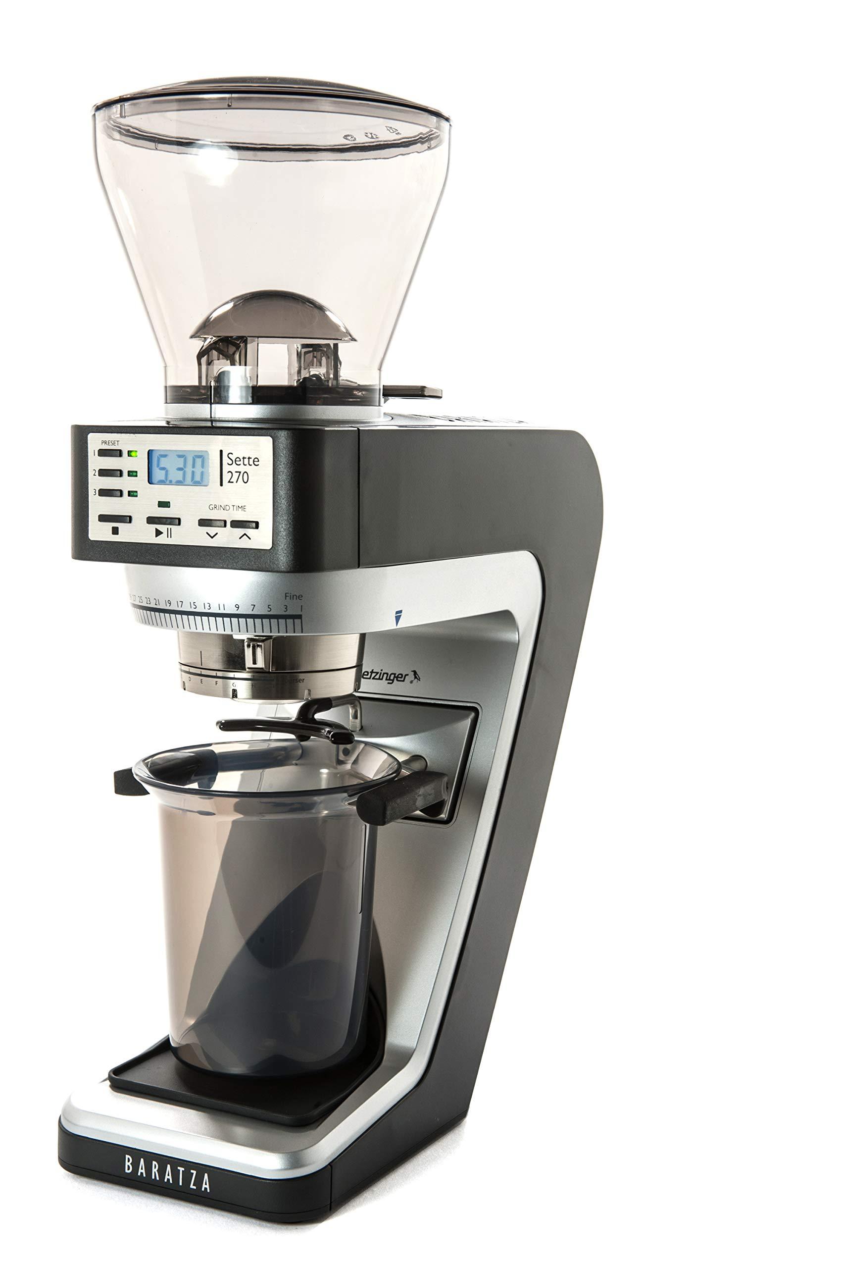 Baratza Sette 270 Conical Burr Coffee Grinder for Espresso Grind and Other Fine Grind Brewing Methods Only