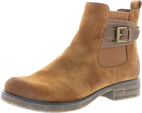 Rieker Damen 96274 Stiefeletten: : Schuhe & Handtaschen
