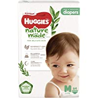 Huggies Platinum Naturemade Tape Diapers M 64s