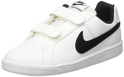 san francisco bde28 f513d Nike Court Royale da Bambino, Bianco (Bianco), 28,5  Amazon.it  Scarpe e  borse