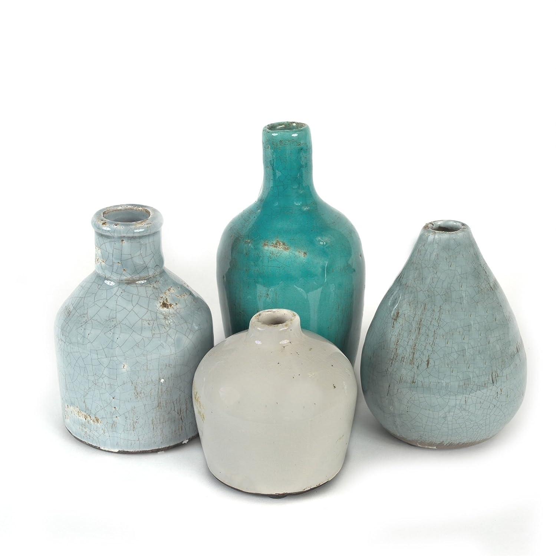 Creative Co-Op DA1092 Terra Cotta Vase Set