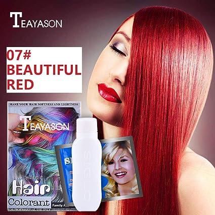 Tinte para el cabello DIY, lápiz Karruier, 12 colores ...