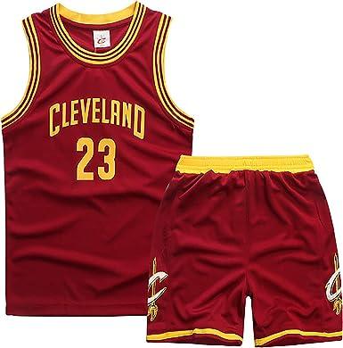 Uniforme de Entrenamiento de Baloncesto para niños, Cleveland ...