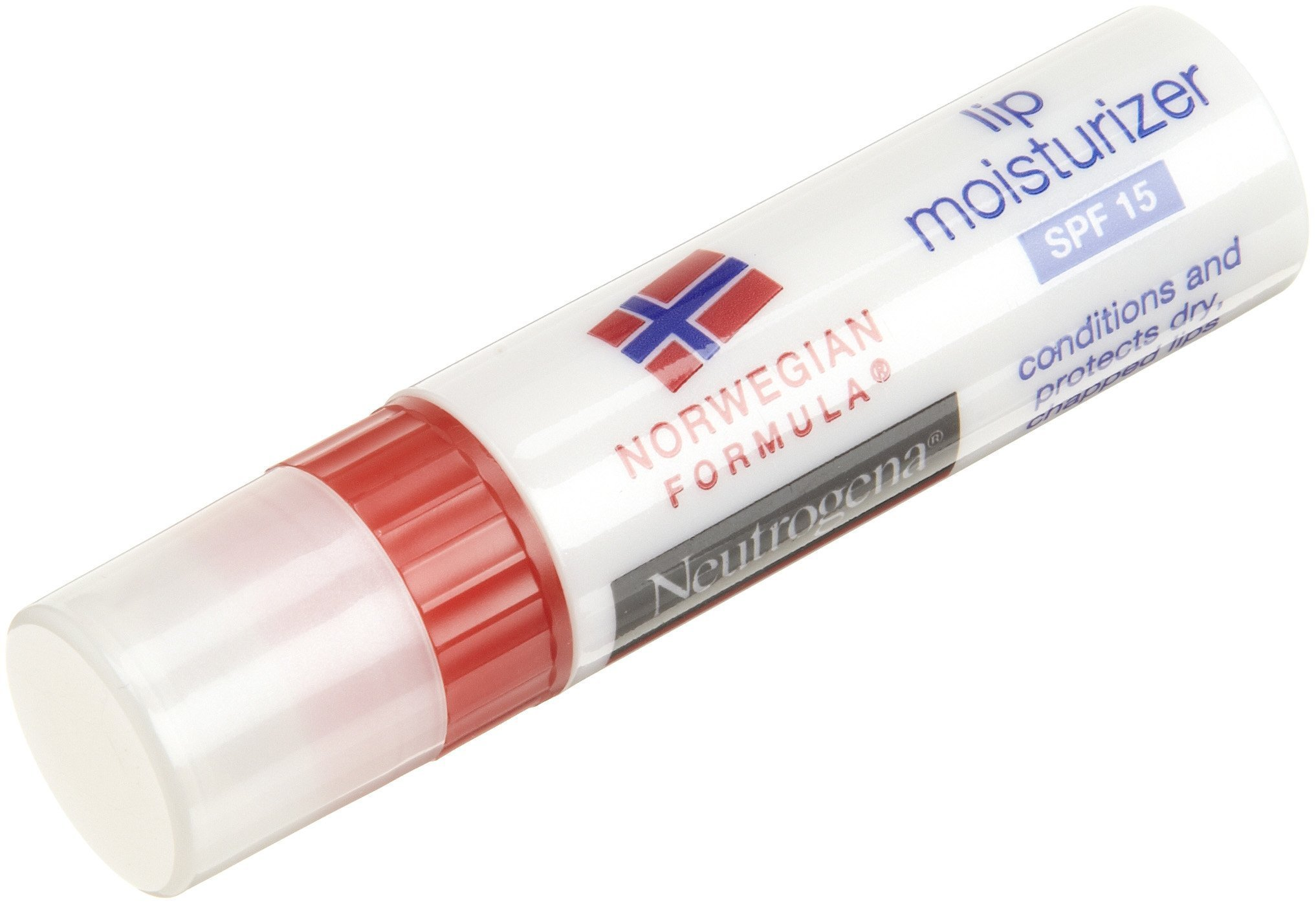 Neutrogena Norwegian Formula Lip Moisturizer, SPF 15, 0.15 Ounce (Pack of 8)