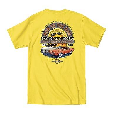 Amazoncom Run To The Sun Official Car Show Event TShirt - Orange beach car show 2018