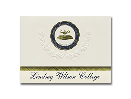 Amazon com : Signature Announcements Lindsey Wilson College
