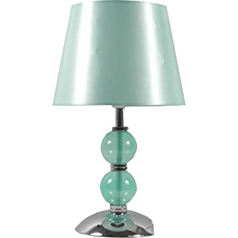 Rosie glass ball table lamp duck egg 31cm amazon lighting rosie glass ball table lamp duck egg 31cm aloadofball Gallery