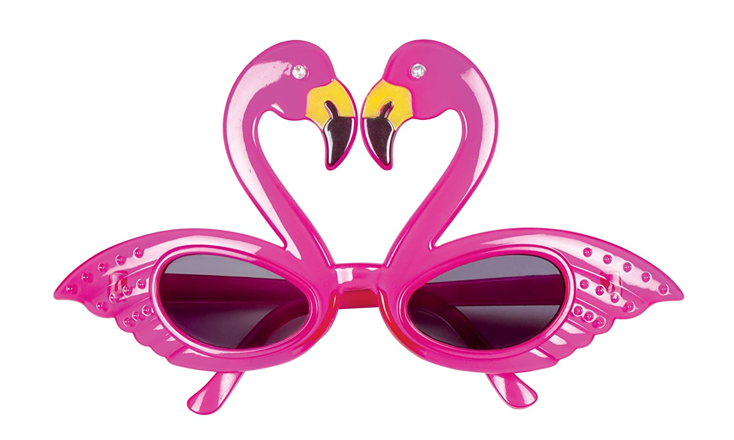 Boland 02579 Glasses Party Flamingo, Pink, One Size