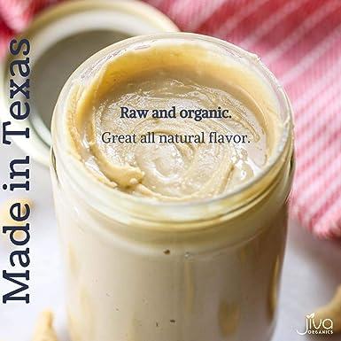 Jiva Organics RAW - Mantequilla de corona orgánica de 453 ml ...
