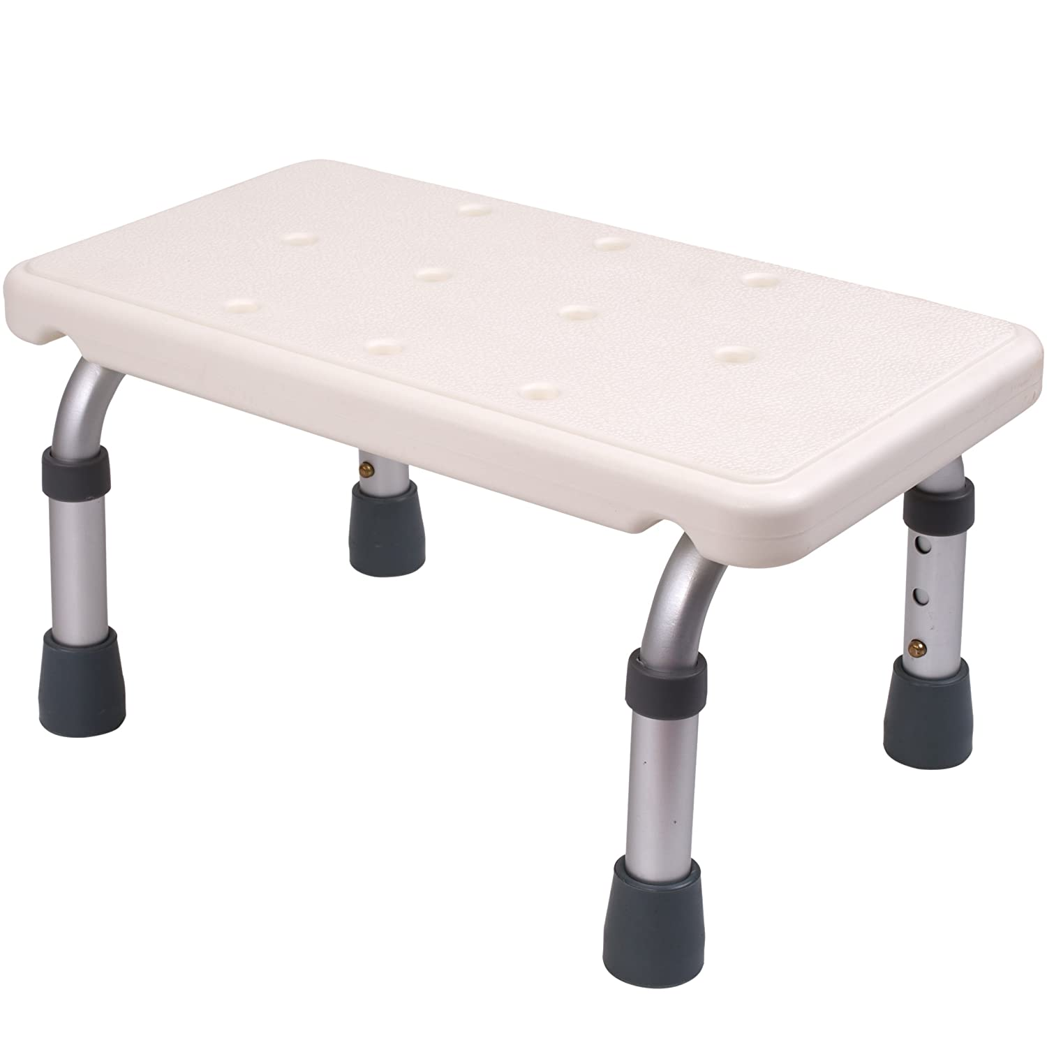 Fantastic Medokare Adjustable Foot Stool Stepping Stool For Adults And Children Bedside High Bed Step For Seniors Foot Stool Under Desk Heavy Duty Portable Machost Co Dining Chair Design Ideas Machostcouk
