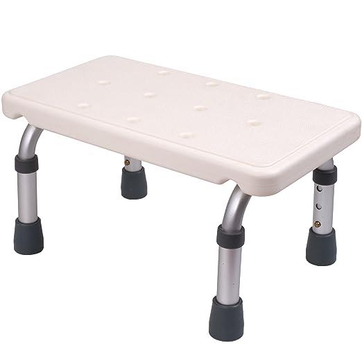 Medokare - Taburete de baño para pies - Escalón ajustable niños ...
