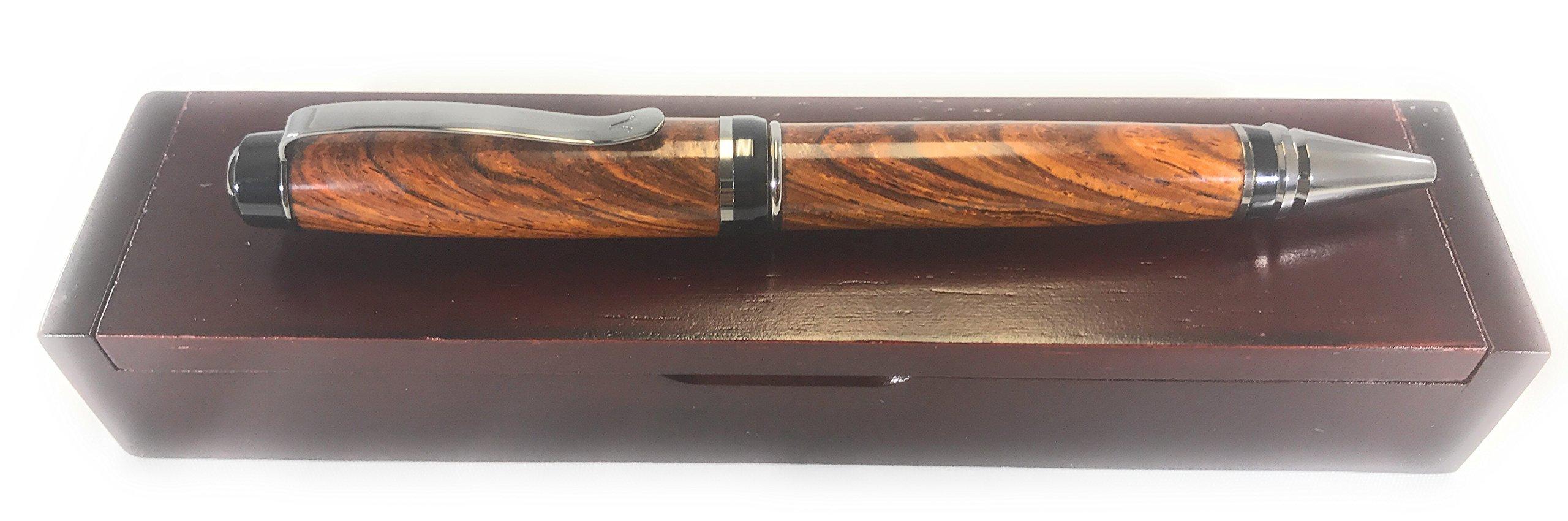 Bendecidos Handmade Pens - Cocobolo Handmade Ballpoint Pen