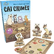 ThinkFun Cat Crimes Brain Game and Brainteaser for Boys and Girls Age 8 and Up - A Smart Game with a Fun Theme and Hilarious