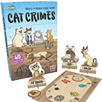 ThinkFun Cat Crimes Logic Game and Brainteaser, 1 Player
