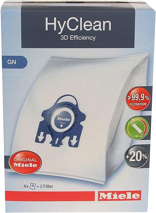 Miele GN Hyclean – Bolsas originales para aspiradora completa C2 ...