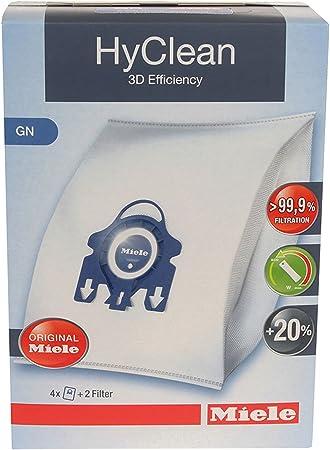 Miele GN Hyclean – Bolsas originales para aspiradora completa C2 C3 Cat & Dog PowerLine Silence Ecoline + filtros (1 caja, 2 cajas, 3 cajas + ambientadores): Amazon.es: Hogar