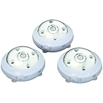3 pack wireless 5 led puck lights with ambient sensor ambient track lighting