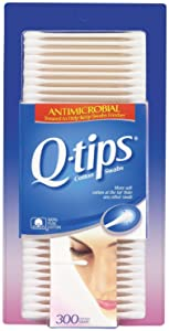 Q-Tips Anti Microbial Cotton Swabs - 300 ct