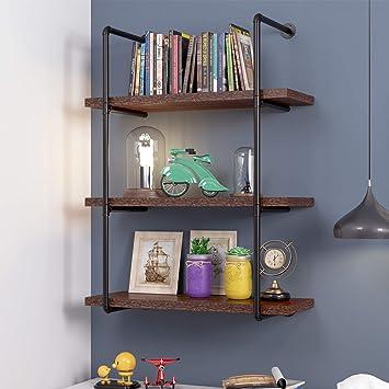 Vintage Wall Mounted Hanging Wall Shelf Floating Display Shelves Girls Baby