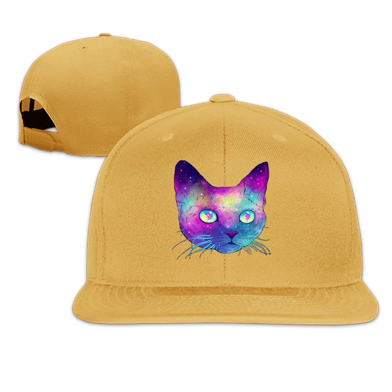 d858ebf6327 Fake Kitty Snapback Cap Plain Blank Caps Adjustable Flat Bill Hats for Men  Women at Amazon Men s Clothing store