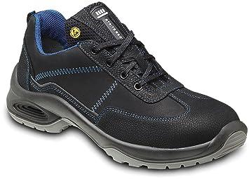 STEITZ SECURA Sicherheits-Halbschuh Sicherheits-Schuh Arbeitsschuhe ESD AL742 PLUS S2 SRC - EN ISO 20345 - Mehrweitensystem...