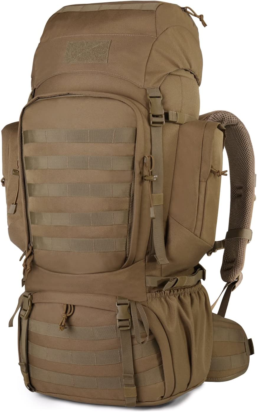 Mardingtop 50L 60L 75L Molle Hiking Internal Frame Backpacks with Rain Cover
