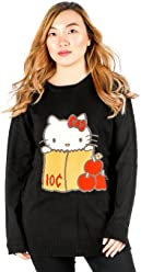 bfdcc44c2 SANRIO Hello Kitty Knit Sweater: Red Apples