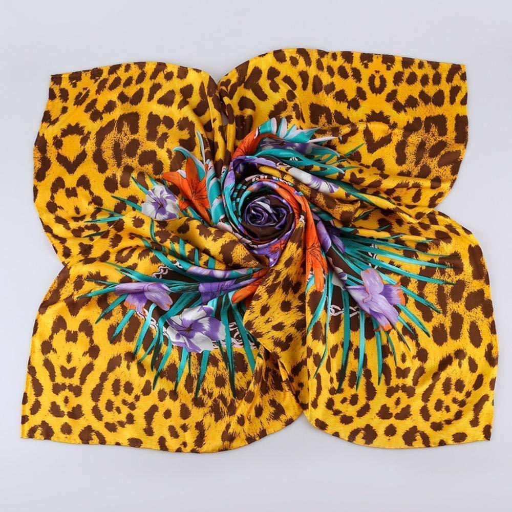 Cream Zhuyuanhai Ladies Silk shawl mulberry silk scarf silky twill square scarf Perfectly expresses unique temperament