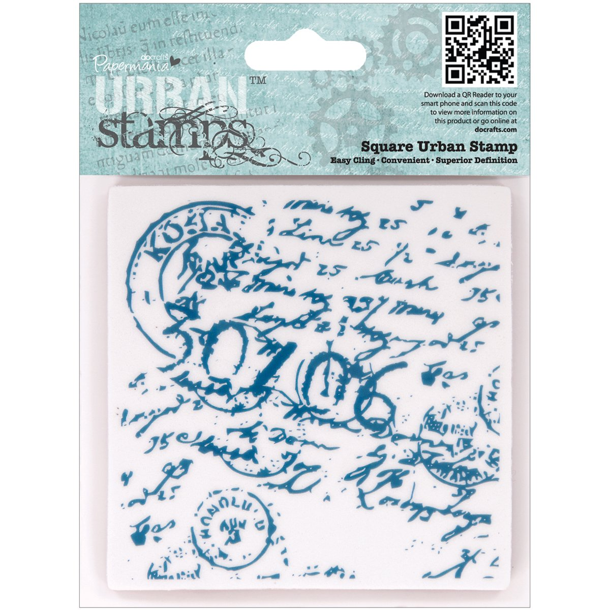 doCrafts Papermania All Aboard Postmark Background 4