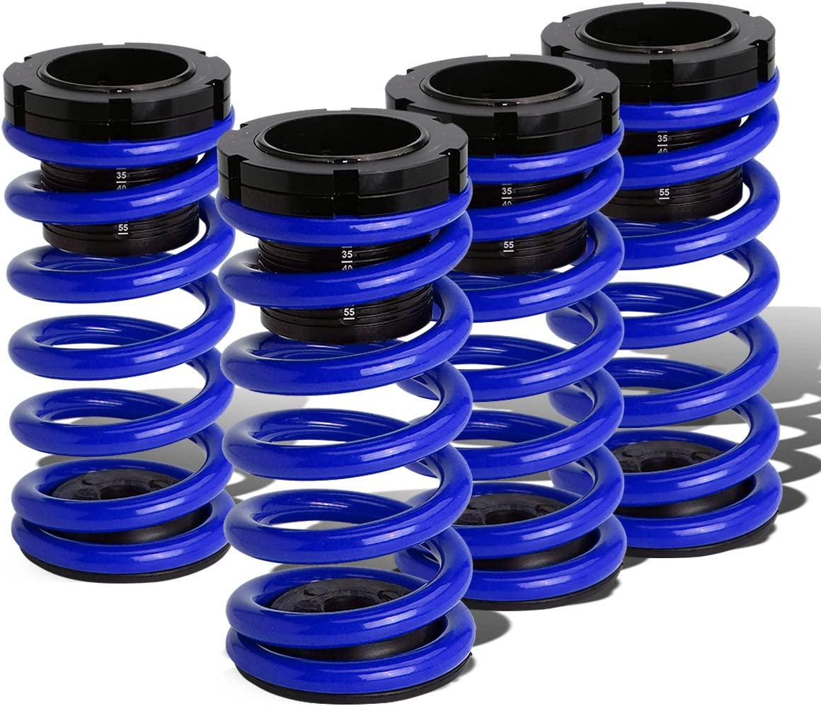 Replacement for Corolla E130 Adjustable Coilover Suspension Lowering Spring Blue