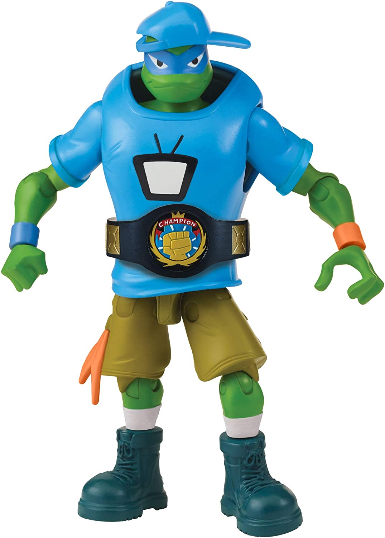 Rise of the Teenage Mutant Ninja Turtles Wrestling Leonardo Action Figure