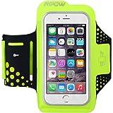 Mpow スポーツアームバンド ランニングアームバンド ポーチ バンドケース スマホ 厚さ0.2cm超薄型 イヤホン 鍵入り収納可能 防汗/防滴仕様 調節可能 iPhone6/iPhone6Sなど4.7インチスマホに対応 18ヶ月保証付き