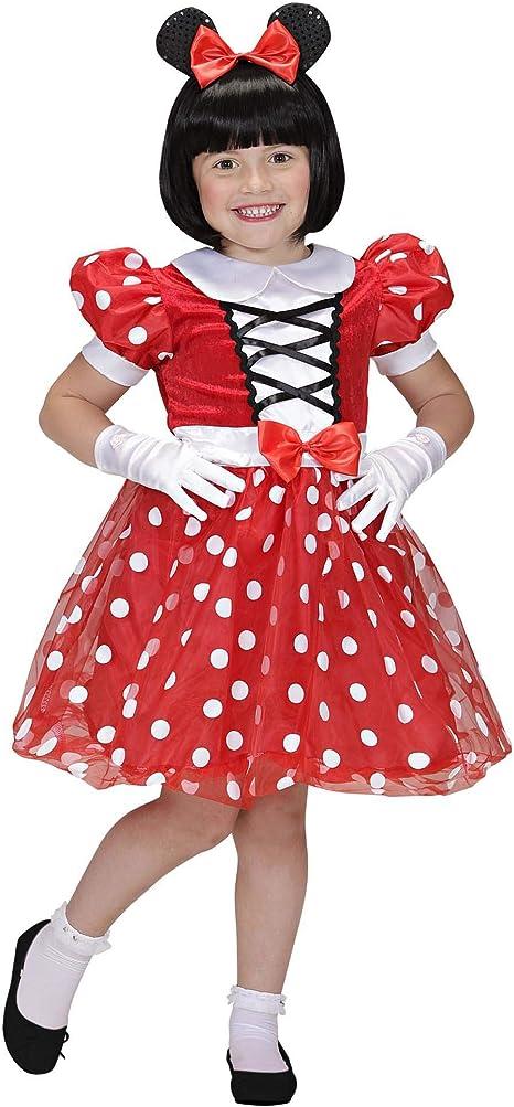 WIDMANN - Disfraz de Mickey Mouse para niños, multicolor, 116 cm/4 ...