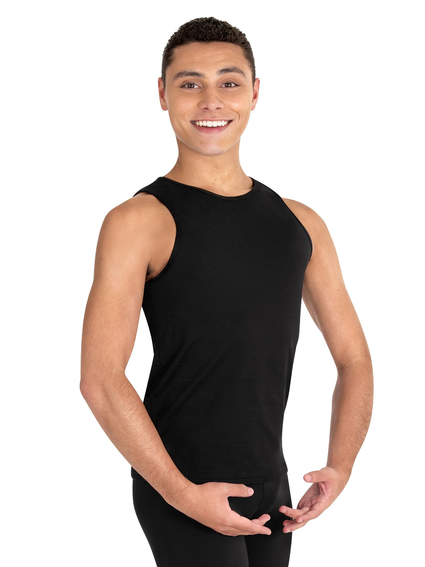 Boys ProWear Tank Top,B407BLKXL,Black,XL by Body Wrappers