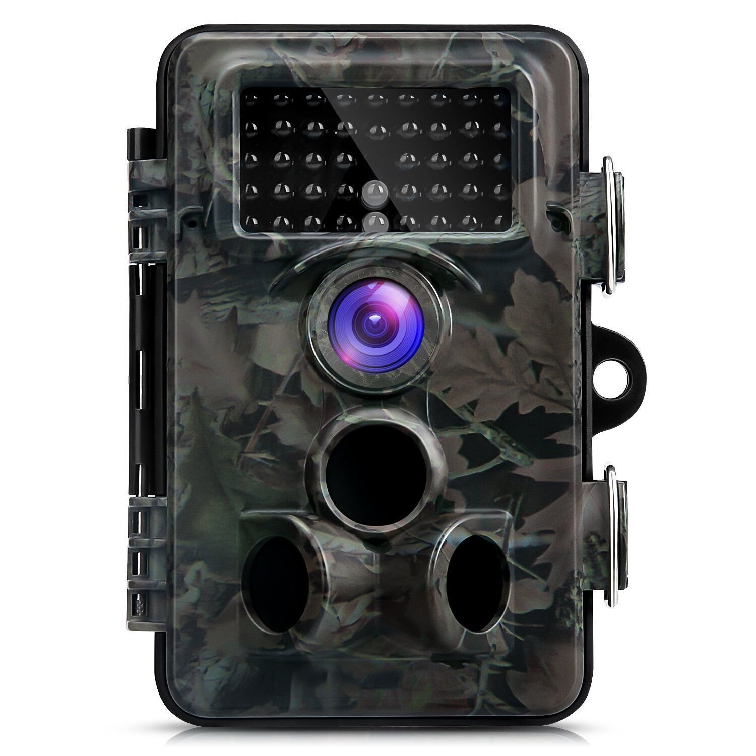 Trail Camera,with Day&Night Vision 12MP 1080P Game& Hunting Camera Waterproof Wildlife Camera with IP66 Water Resistant 2.4'' LCD Screen, 0.4s Trigger Time