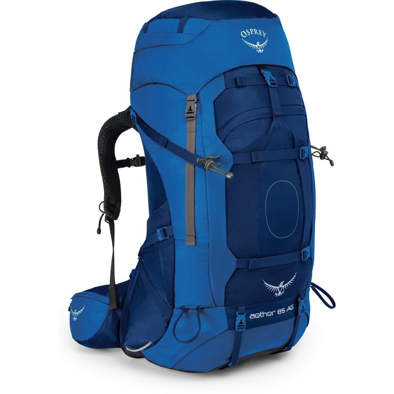 Osprey Aether AG 85 Hiking Backpack Medium Neptune Blue
