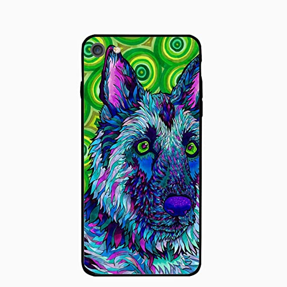 8f11133b55 Amazon.com: iPhone 6 Case,iPhone 6s Case,Trippy Dog for Girls Women ...