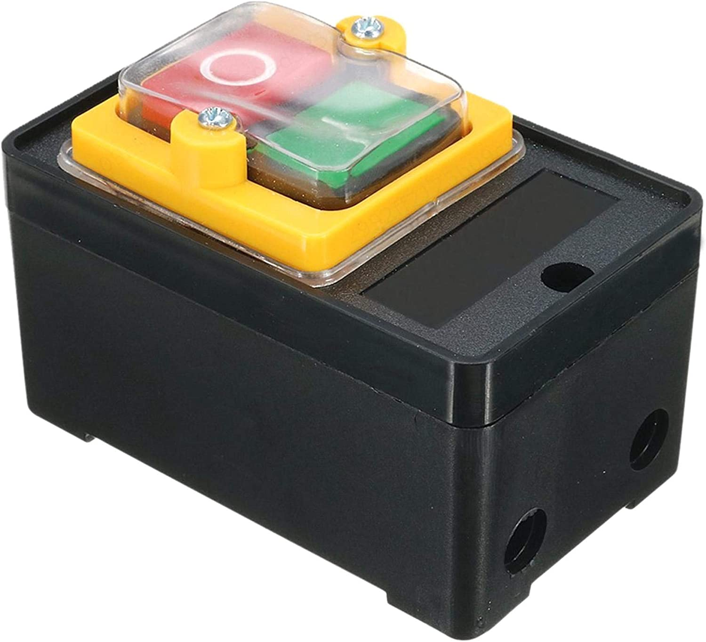 380V Interruttore a Pulsante Resistente allAcqua KAO-5 per Trapano a Motore LAQI Bottone a Pressione Impermeabile AC 220