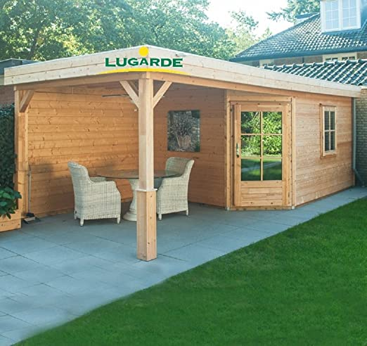 Lugarde Fynn - Caseta de jardín de madera de abeto con ...