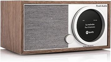 Tivoli Modell One Digital M1dwal Classic Walnut Grau Elektronik