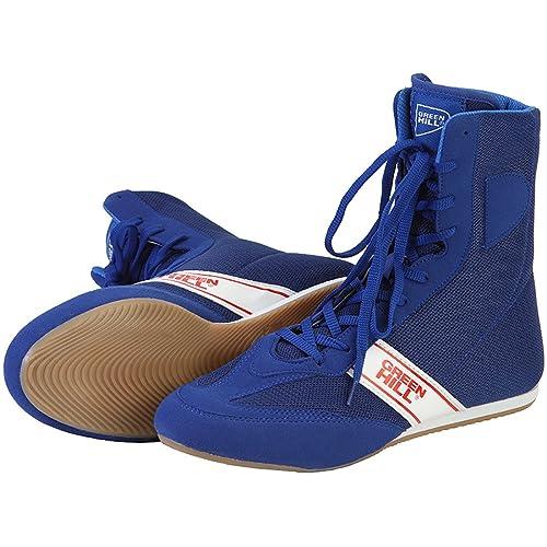 Green Hill Zapatos de Boxeo Boxing Shoes,High-Top Boxing Boots Botas de Boxeo Zapatillas de Deporte For Boxing Professional Training: Amazon.es: Zapatos y ...