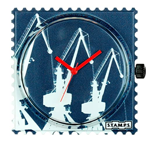 S.T.A.M.P.S. Stamps Reloj, esfera Frogman, impermeable Boom Cranes 103795: Amazon.es: Relojes