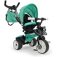 INJUSA- Triciclo City MAX Evolutivo Color Verde, 21